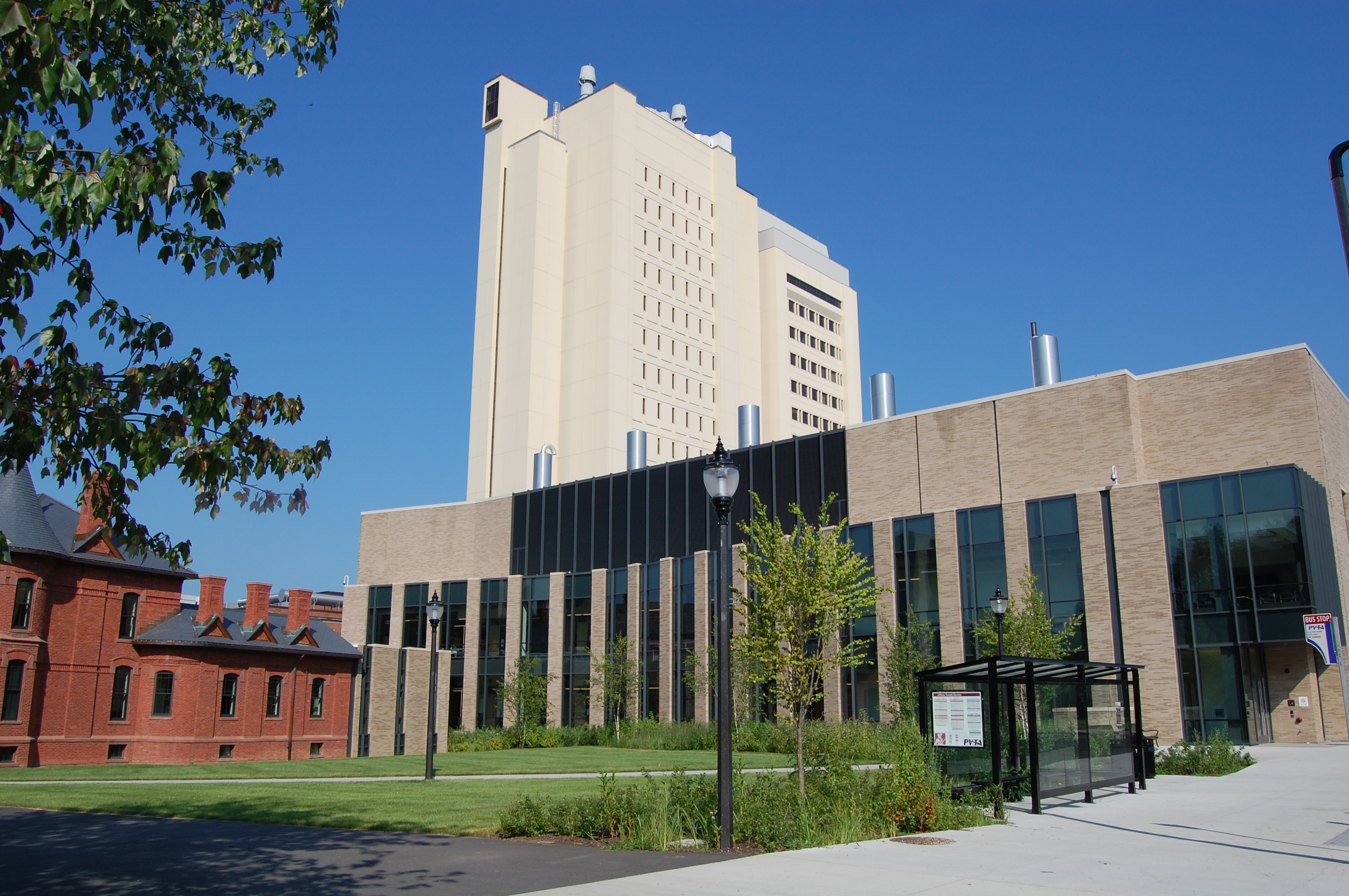 Psb and LGRT buildings