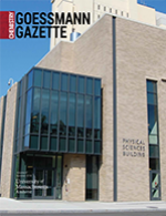 Goessmann Gazette Cover image
